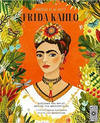Portrait of an Artist Frida Kahlo