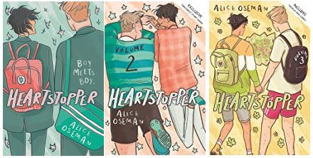 Heartstopper Series by Alice Oseman - Libros Happy